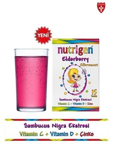 Nutrigen Nutrigen Elderberry Kara Mürver Efervesan 15 Saşe Renksiz